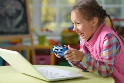Barnet mitt kan ikke slutte å spille videospill