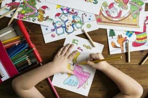 Åtte store fordeler med at barn tegner