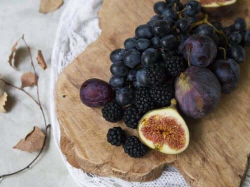 Frukt kan også være en del av sjokoladetrøfler.