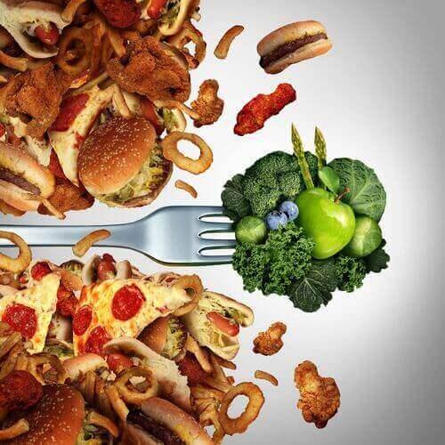 Fettholdig mat