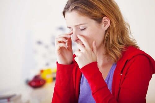 Helseegenskapene til mynte-te kan hjelpe mot bihulebetennelser.