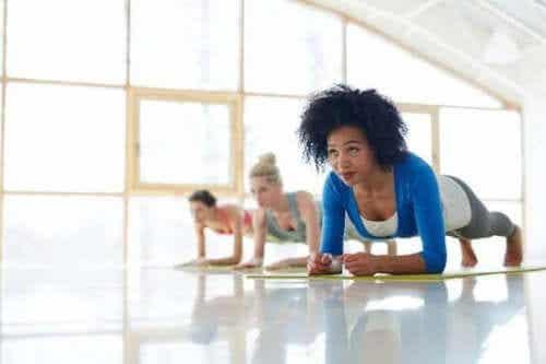 Planken er en treningsøvelse med mange fordeler