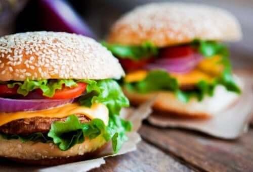 Hamburgere behøver ikke å være usunne.