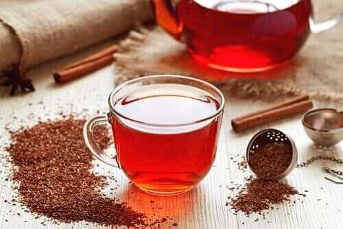 Rooibos te kan hjelpe til med å behandle jernmangelanemi