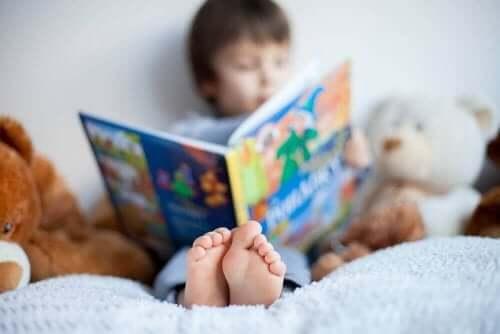 Gutt leser