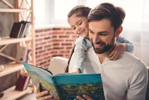 Datter er interessert i å lese