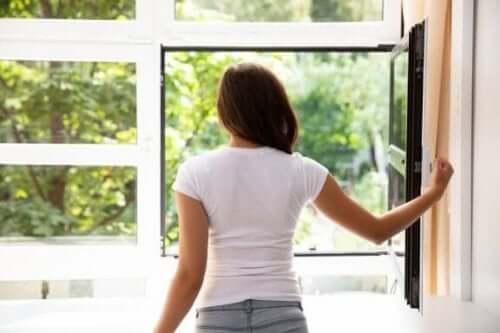 Syv måter å rense luften i hjemmet ditt på