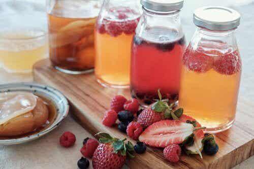 5 enkle oppskrifter på fruktinfusjoner