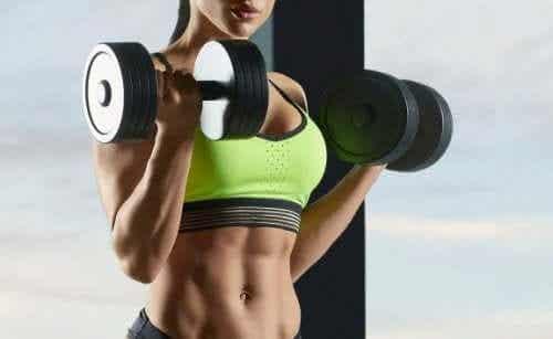 Rollen melkesyre har under trening