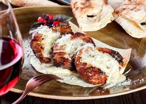 Kalvestek med parmesan