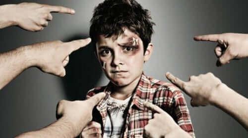 Mobbing av barn er et alvorlig tema.