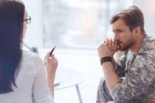 Posttraumatisk stress og effektene det har på kroppen