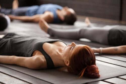 Yoga-trening.