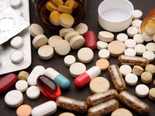 Novalgin og andre piller