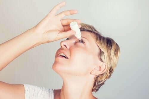 Bruk og bivirkninger av brimonidin
