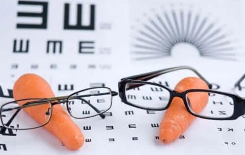 Vitamin A er bra for synet.