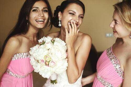 Brud og brudepiker