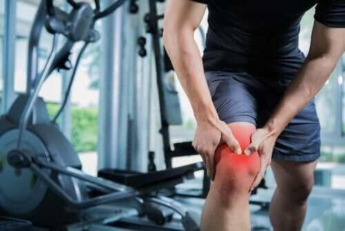 Muskelstrekk ved kneet