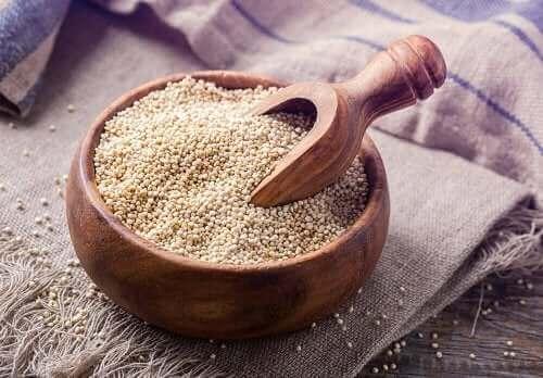 Quinoa – en flott kilde til ikke-fetende karbohydrater