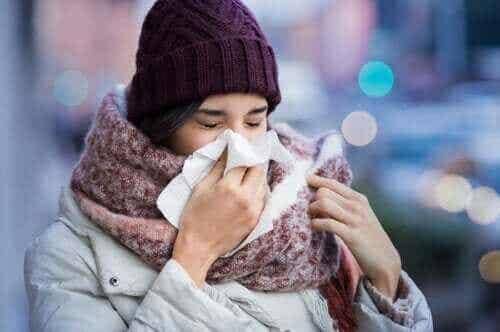 Grunnen til at vi får forkjølelser