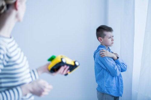 Selektiv mutisme hos barn.