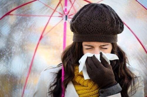 Slik forhindrer du forkjølelse om vinteren