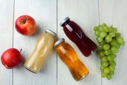 Fruktdrikker.