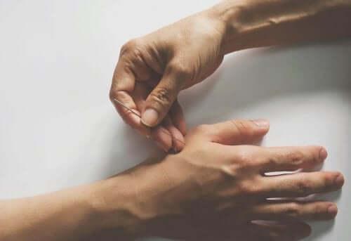 Akupunktur.