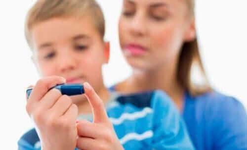 Diabetes er en av årsakene til nefrotisk syndrom hos barn