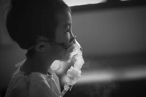 Barn med lungebetennelse