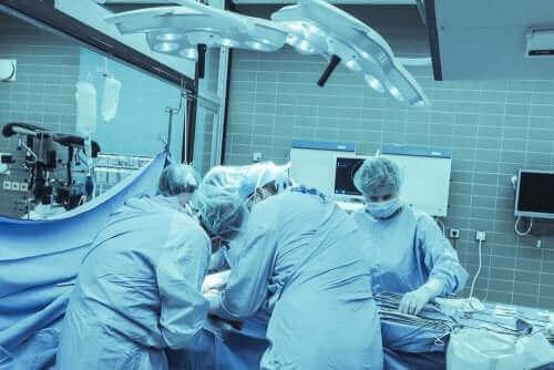 Et operasjonsrom.