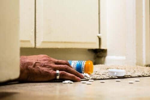 Bivirkninger av legemiddelet tramadol.