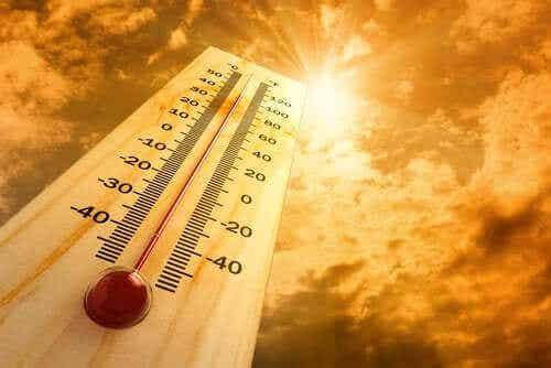 Oppdag seks effekter av varme på kroppen