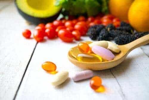 Hvilke vannløselige vitaminer finnes det?