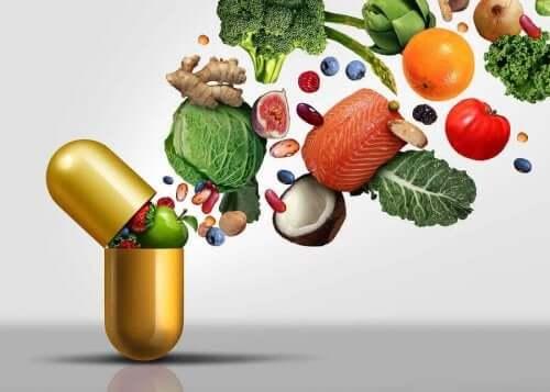 Matvarer som er gode kilder til vitaminer