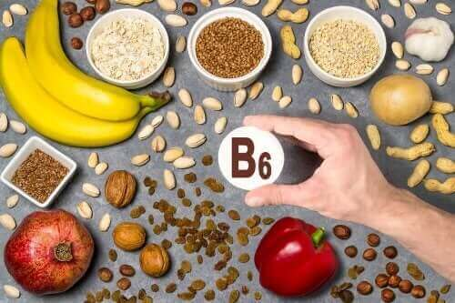 Vitamin B6 er viktige vannløselige vitaminer