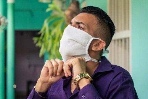 Vanlige feil ved bruk av stoffmasker