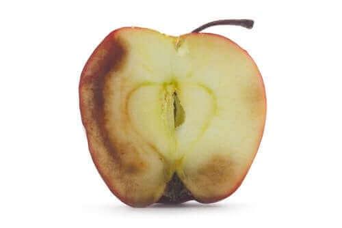 Konsekvensene av å spise oksidert frukt