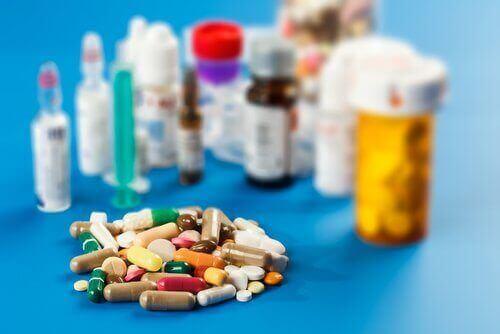 Forskjellige legemidler