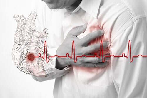 En lav dose aspirin for hjerteinfarkt.