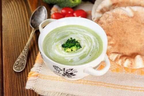 Kremet grønnsakssuppe for å styrke immunforsvaret
