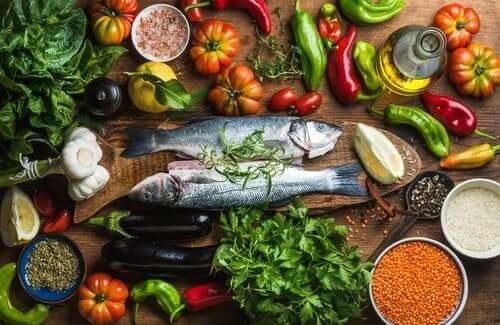 Dietter som kan sammenlignes med middelhavsdietten