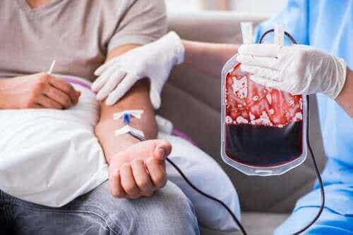 Blodtransfusjon – hensikt og prosedyre