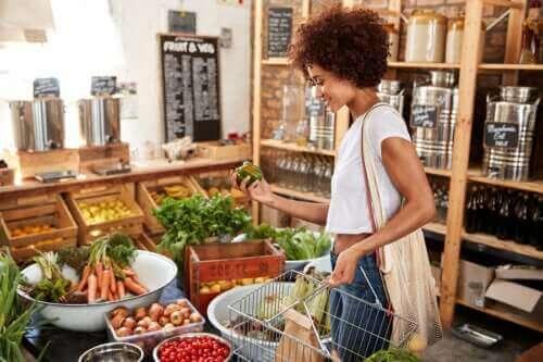 Fargen på maten og dens næringsverdi