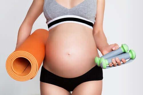Trening og graviditet: Ting du bør vurdere