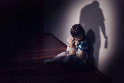 Et redd barn om natten