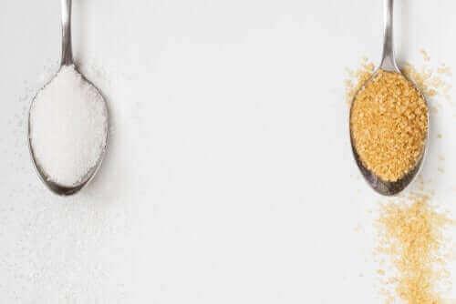 Er brunt sukker bedre enn hvitt sukker?