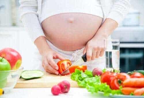 Viktigheten av kosthold under svangerskapet