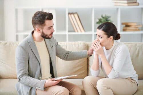 Symptomer på posttraumatisk stresslidelse