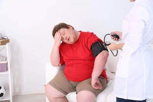 Pasienter med hjerteproblemer eller fedme er sårbare for varmen.